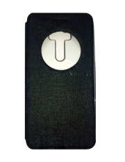 Ume Asus Zenfone Selfie ZD551KL View / Flip Cover / Book Cover / Flipshell / Case Cover / Leather Case / Sarung Handphone / Sarung HP / Sarung Asus Zenfone Selfie - Hitam