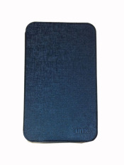 Ume Samsung Galaxy Tab 3 V SM-T116NU Non View / Flip Cover / Flipshell / Leather Case / Sarung Tablet / Sarung Samsung Tab 3V T116 - Navy Blue