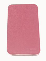 Ume Samsung Galaxy Tab 3 V SM-T116NU Non View / Flip Cover / Flipshell / Leather Case / Sarung Tablet / Sarung Samsung Tab 3V T116 - Pink