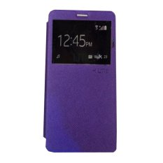 Ume Huawei Ascend Y511 View / Flip Cover Huawei Y511 / Flipshell / Leather Case / Sarung HP / Sarung Huawei Ascend Y511 - Purple