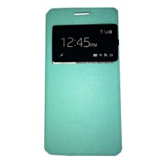 Ume Meizu M2 View / Flip Cover / Flipshell / Leather Case / Sarung Handphone / Sarung HP / Sarung Meizu M2 - Hijau Tosca