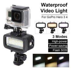 Jual Underwater 40M Waterproof Led Diving Video Light For Sports Cameras Dslr Ld729 Xcsource Grosir