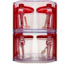 Harga Uniq One Condiment Container Tempat Bumbu 4 9011 Merah