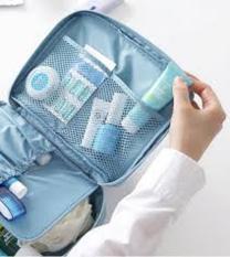 Rp 35.000. Universal Cosmetic Multi Pouch Kosmetik Organizer Multifungsi Travel Monopoly ...