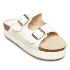 Harga Urban Looks Milley Platform Sandals Putih Branded