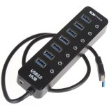 Spesifikasi Usb Ultra High Speed 3 Hub 7 Port Hub007 Black Murah