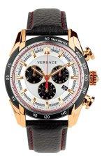 Promo Versace V Ray Chronograph Vdb040014 Jam Tangan Pria Hitam Murah