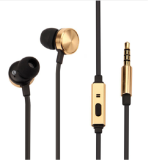 Vivan Earphone 3 5Mm With Mic Ve M50 Hitam Gold Vivan Diskon