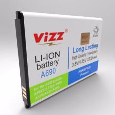 Vizz Baterai Double Power Lenovo A690, A298T/A520/A370 2300 mAh