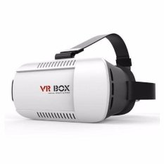 Vr Box Virtual Reality For Smartphone Putih Promo Beli 1 Gratis 1
