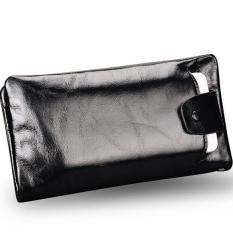 Toko W725 Asli Wax Kulit Pria Panjang Dompet Asli Kulit Sapi Purse Man Dompet Untuk Iphone 5 5 S 6 Plus Phone Pocket Holder Organizer Yang Bisa Kredit