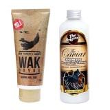 Beli Barang Wak Doyok Cream Penumbuh Jambang Herbal Kumis Bulu Jenggot Rambut 75Ml Shampoo Caviar Kuda 250 Ml Online