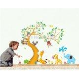 Ulasan Lengkap Tentang Wall Sticker Hewan Dan Pohon Size Besar