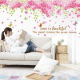 Review Terbaik Wall Sticker Sakura Tanpa Batang Size Besar