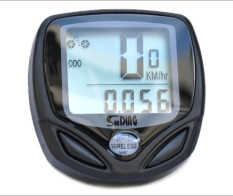 Toko Waterproof Bicycle Bike Cycle Nirkabel Speedometer Digital Lcd Kabel Komputer Odometer Lampu Latar Putih Online Tiongkok