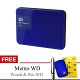 Toko Western Digital Hardisk Pasport New Ultra 2Tb 3 Biru Gratis Pouch Memo Pen Terdekat