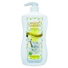 Harga White Garden Shower Cream Pure Goat S Milk Pearl 1100Ml Murah