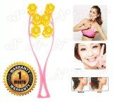 Review White Sands Peramping Massage Wajah Chubby Flower Face Slimming Roller
