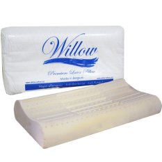 Review Willow Pillow Ergonomic Latex Soft Indonesia