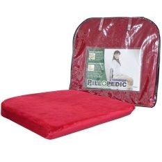 Beli Willow Pillow Pillopedic Seat Cushion Memory Foam Online Indonesia