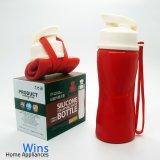 Jual Wins Botol Minum Silicon Lipat 500Ml Merah Branded