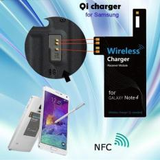 Review Wireless Qi Power Receiver Charger Adapter For Samsung Galaxy Note 4 N9100 Terbaru