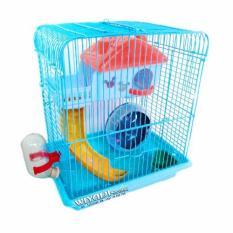 Diskon Wiyadistore Kandang Hamster K34 Biru Wiyadistore