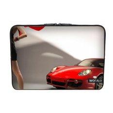 WOFALO 11.6 12 12.3 Inch Laptop Sleeve Case Casing Cover Neoprene untuk MacBook/Netbook/Laptop/Notebook Ultrabook Porsche Cayman Sportscars dan Bertumit Tinggi Sepatu Kecantikan-Intl