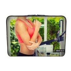 WOFALO 12.6 12.8 13 13.3 Inch Laptop Sleeve Case Casing Cover Neoprenefor MacBook/Netbook/Laptop/Notebook Ultrabook Olahraga Indoor Saran Saksi Peralatan dan Kecantikan Lainnya-Intl