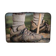 WOFALO 9.7-10.6 Inch Laptop Sleeve Case Casing Cover Neoprene untuk MacBook/Netbook/Laptop/Notebook/Ultrabook Go Rock Climbing Shoeshiking Sepatu Outdoor Olahraga dan Aktivitas Kebugaran-Intl