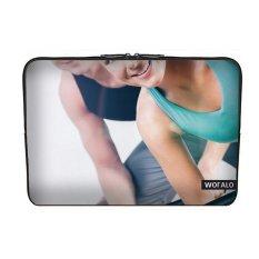 WOFALO 9.7-10.6 Inch Laptop Sleeve Case Casing Cover Neoprene untuk MacBook/Netbook/Laptop/Notebook/Ultrabook Olahraga dan Fitnessbeauty Karakter Close-up-Intl