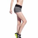Ulasan Mengenai Kasual Wanita Longgar Sport Yoga Shorts Adjustable Waist Fitness Menjalankan Celana Pendek Abu Abu
