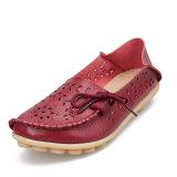 Review Dalam Wanita Sepatu Flat Shoes Size35 44 Anggur Merah Intl Tiongkok
