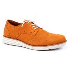 Spek Wonder Shoes Brogues 3401 Cokelat