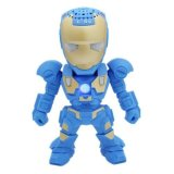 Review Toko X One Bluetooth Speaker Portable Iron Man C 89 Biru Online