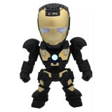 Penawaran Istimewa X One Bluetooth Speaker Portable Iron Man C 89 Hitam Terbaru