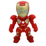 X One Bluetooth Speaker Portable Iron Man C 89 Merah Asli