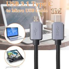 XCSource 1m Micro B to USB 3.1 Type C Data Sync Cable Adapter for 12