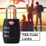 Harga Xcsource 3 Digit Tsa Travel Lock For Luggage Suitcase Black Online