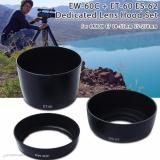 Cara Beli Xcsource 3Pcs Ew 60C Et 60 Es 62 Lens Hood For Canon Ef S 18 55Mm Ef 28 80Mm 28 90