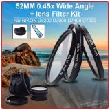 Spesifikasi Xcsource 52Mm 45X Wide Angle Lens Uv Cpl Nd4 Filter Kit For Nikon D5200 D3200 D7100 D7000 Terbaru