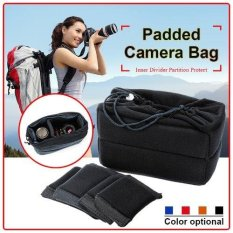 Beli Xcsource Flexible Camera Insert Bag Partition Padded Case For Nikon Dslr Lens Pakai Kartu Kredit