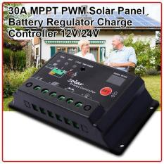 Ulasan Xcsource Intelligent 30A Pwm Solar Panel Charge Controller 12V24V Battery Regulator