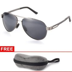 Spesifikasi Xcsource Men S Classic Fashion Polarized Sunglasses Driving Fishing Glasses Grey Frame Beserta Harganya
