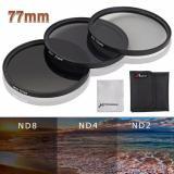Ulasan Tentang Xcsource Neutral Density Filter Nd2 Nd4 Nd8 77Mm For Nikon D7100 D800 D600 D300S