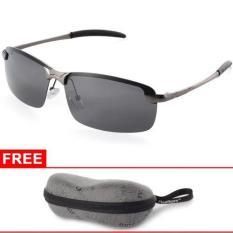 Toko Xcsource Uv400 Polarized Glasses Outdoor Sports Driving Sunglasses Black Grey Frame Xcsource