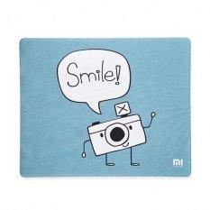Spesifikasi Xiaomi Anti Slip Mousepad Smile Design Biru Xiaomi Terbaru