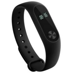 Harga Xiaomi Mi Band 2 Waterproof Smart Bracelet Heart Rate Monitor Wristband Black Seken