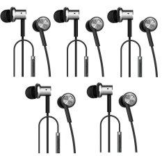 Toko Xiaomi Mi Iv Hybrid Dual Drivers Package Earphones In Ear Headphones Silver 5 Buah Termurah