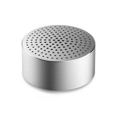 Promo Xiaomi Original Mini Bluetooth Portable Speaker Round Metalic Silver Xiaomi Terbaru